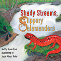 Salamanders book cover_copyrighted nature illustration-JMTurley