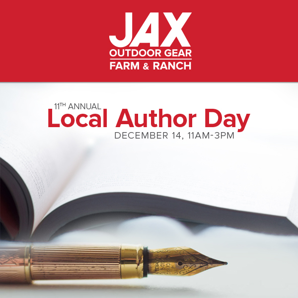 JAX Author Day 2019 Postcard